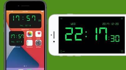 「デジタル時計 - LED 目覚まし時計」のスクリーンショット 1枚目