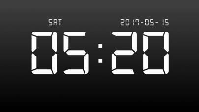 「デジタル時計 - LED 目覚まし時計」のスクリーンショット 3枚目