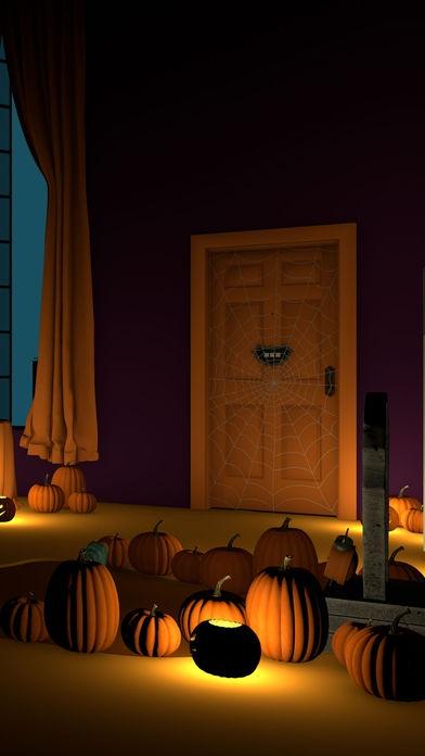 「脱出ゲーム Halloween おばけとかぼちゃと魔女の家」のスクリーンショット 3枚目