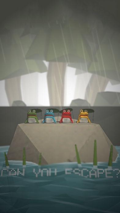 「脱出ゲーム -レイニーレイク-」のスクリーンショット 1枚目