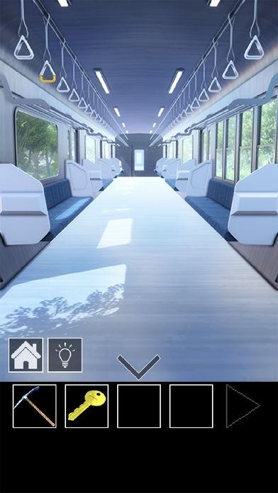 「脱出ゲーム 電車のある道」のスクリーンショット 3枚目