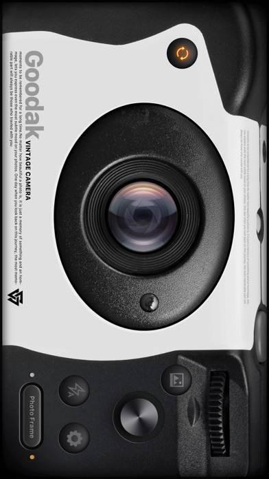 「Goodak カメラ - インスタントカメラ写真アプリ」のスクリーンショット 3枚目