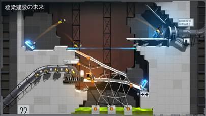 「Bridge Constructor Portal」のスクリーンショット 2枚目