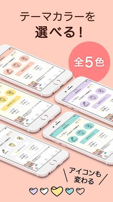 「ミチル-基礎体温も管理できる生理管理アプリ(michiru)」のスクリーンショット 2枚目