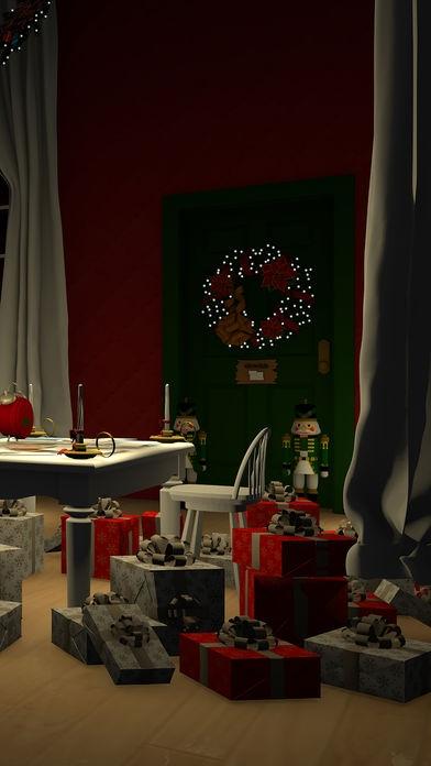 「脱出ゲーム Merry Xmas 暖炉とツリーと雪の家」のスクリーンショット 3枚目