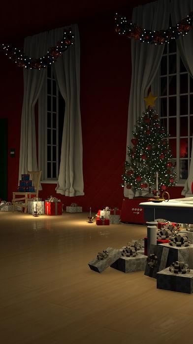 「脱出ゲーム Merry Xmas 暖炉とツリーと雪の家」のスクリーンショット 2枚目