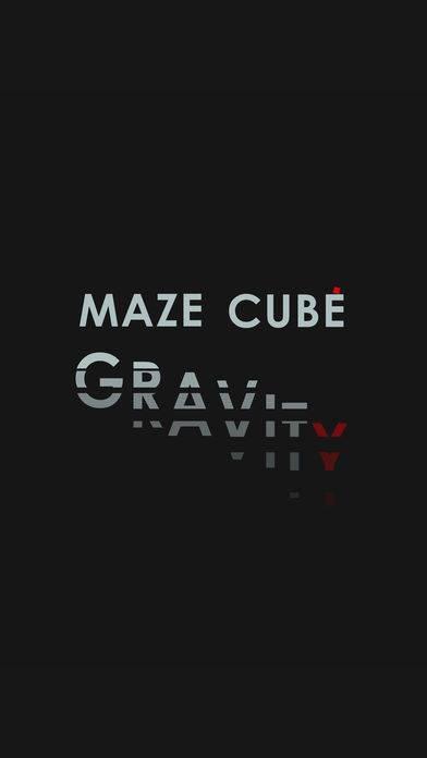 「maze cube gravity」のスクリーンショット 1枚目