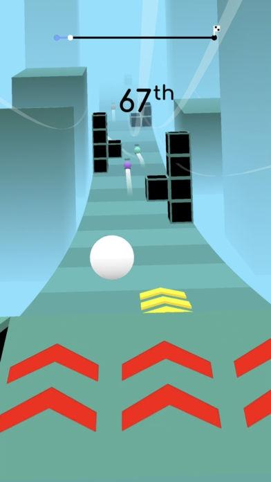 「Balls Race」のスクリーンショット 3枚目