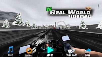 「VR自転車実世界レース」のスクリーンショット 1枚目