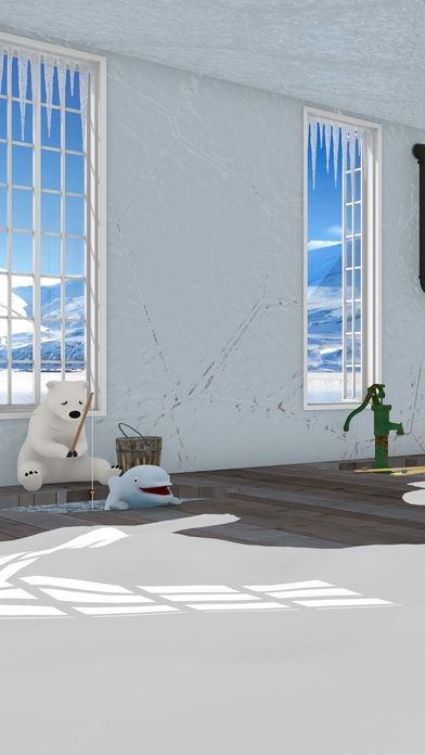 「脱出ゲーム North Pole 氷の上のカチコチハウス」のスクリーンショット 1枚目