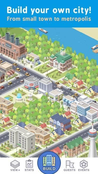 「Pocket City: ポケットシティ」のスクリーンショット 1枚目