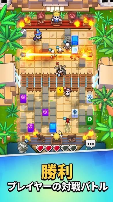 「Magic Brick Wars マルチプレイヤーゲーム」のスクリーンショット 1枚目