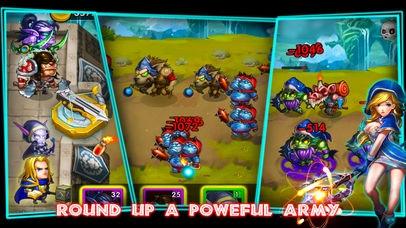 「Defender Heroes:Castle Defense」のスクリーンショット 3枚目