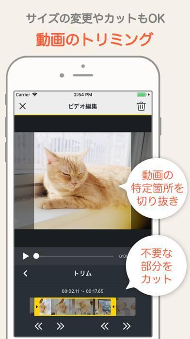 「MixClip - 動画編集 & 動画作成」のスクリーンショット 3枚目