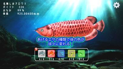 「稚魚から育てるアロワナ」のスクリーンショット 2枚目