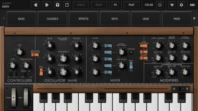 「Minimoog Model D Synthesizer」のスクリーンショット 1枚目