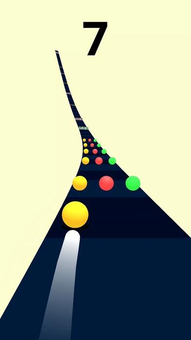 「Color Road!」のスクリーンショット 1枚目