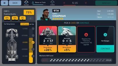「Motorsport Manager Mobile 3」のスクリーンショット 3枚目