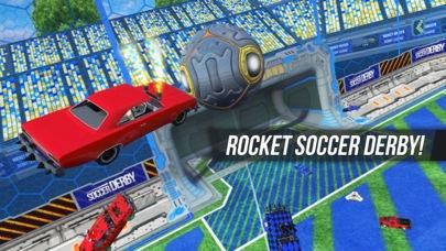 「Rocket Soccer Derby」のスクリーンショット 1枚目