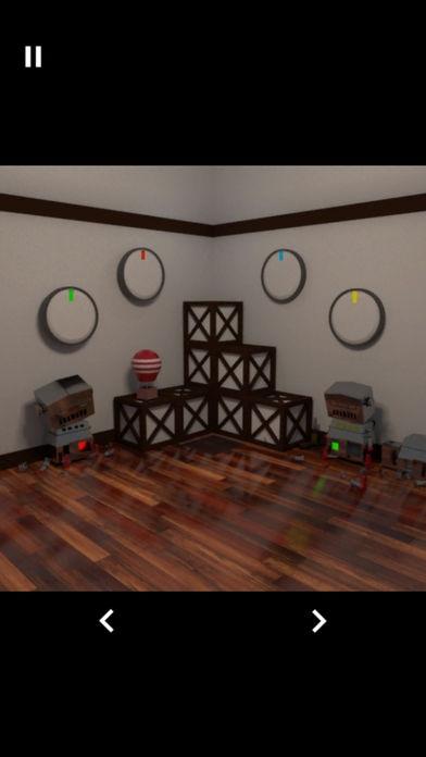 「脱出ゲーム-ロボットのいる部屋-」のスクリーンショット 3枚目