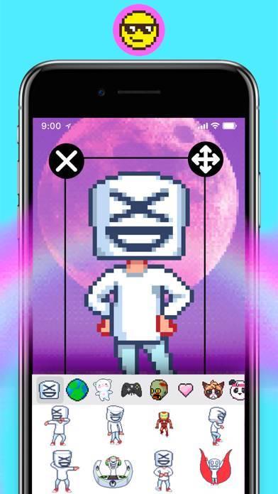 「WOW pixel ピクセル - ライブ壁紙」のスクリーンショット 3枚目
