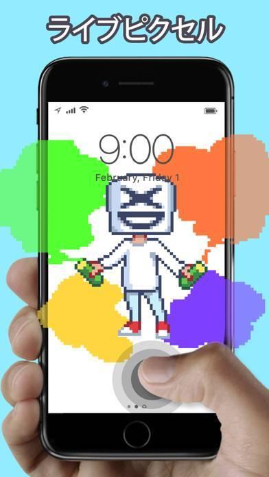 「WOW pixel ピクセル - ライブ壁紙」のスクリーンショット 1枚目