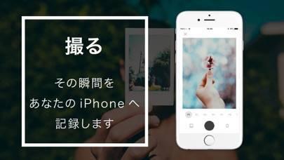 「InSnap  フレーム加工のフィルムカメラアプリ」のスクリーンショット 2枚目