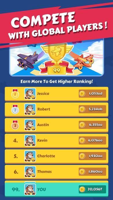 「Merge Plane - Best Idle Game」のスクリーンショット 2枚目