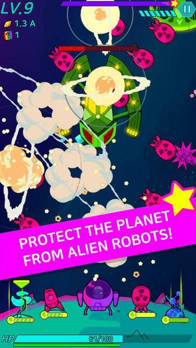 「Stellar! - Infinity defense」のスクリーンショット 1枚目