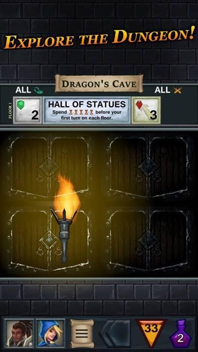 「One Deck Dungeon」のスクリーンショット 1枚目