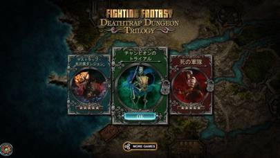 「Deathtrap Dungeon Trilogy」のスクリーンショット 1枚目
