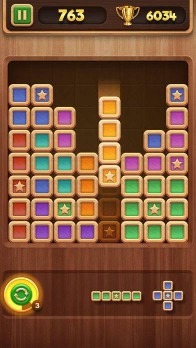 「Block Puzzle: Star Finder」のスクリーンショット 2枚目