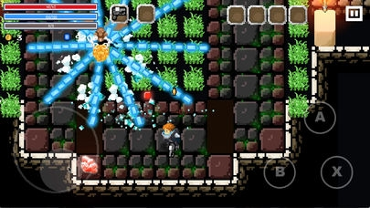 「Flame Knight: Roguelike Game」のスクリーンショット 1枚目