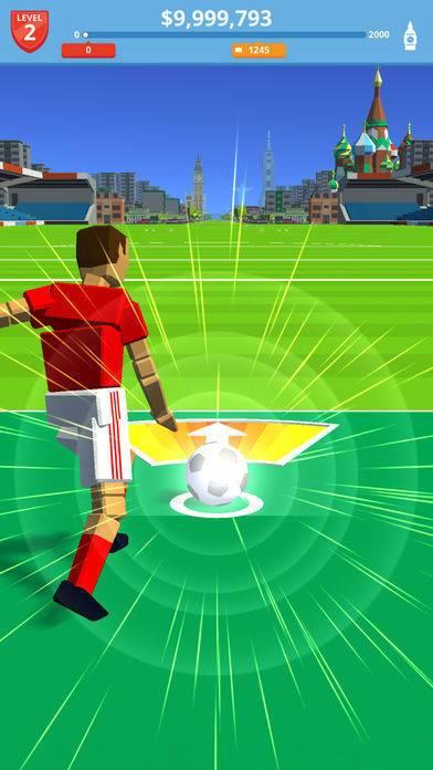 「Soccer Kick」のスクリーンショット 1枚目