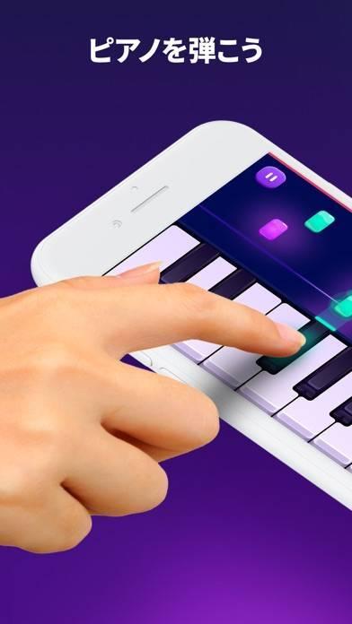 「Piano Crush - ピアノ 鍵盤 音楽 ゲーム」のスクリーンショット 1枚目