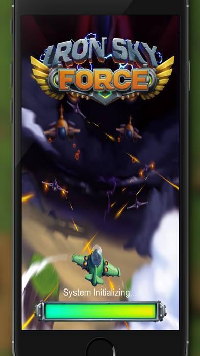 「アイアンスカイフォース Iron Sky Force」のスクリーンショット 1枚目