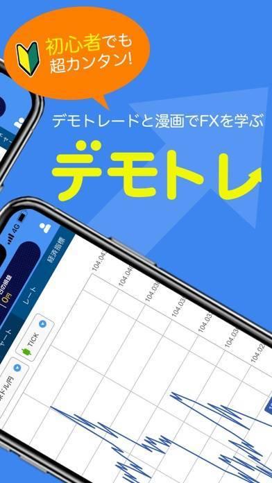 「FXデモトレードなら「デモトレ」初心者向けのFXガイドアプリ」のスクリーンショット 2枚目