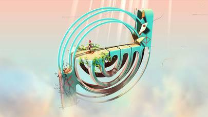 「Euclidean Skies」のスクリーンショット 1枚目
