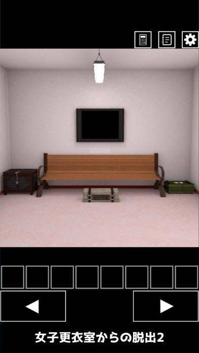 「脱出ゲーム 女子更衣室からの脱出2」のスクリーンショット 2枚目