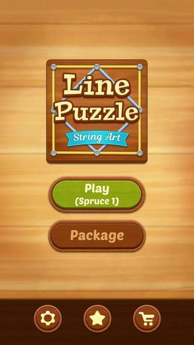 「Line Puzzle: String Art」のスクリーンショット 1枚目