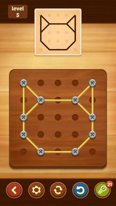 「Line Puzzle: String Art」のスクリーンショット 2枚目