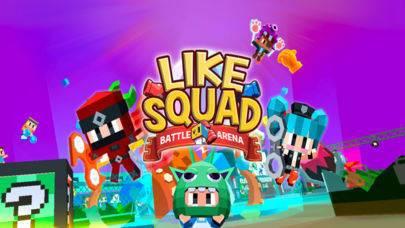 「LIKE SQUAD」のスクリーンショット 1枚目