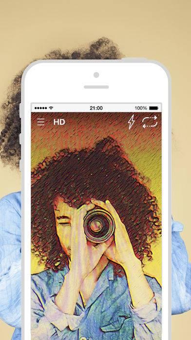 「Alice - AI写真加工フィルター」のスクリーンショット 1枚目