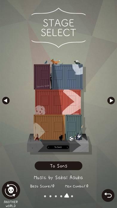 「B&D-リズムゲーム」のスクリーンショット 3枚目