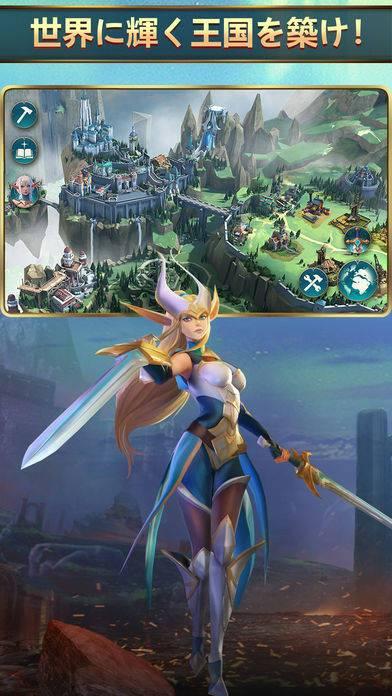 「モバイルロワイヤル: バトル戦争RPG」のスクリーンショット 2枚目