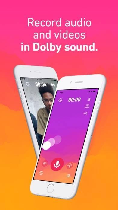 「Dolby On: Record Audio & Video」のスクリーンショット 1枚目