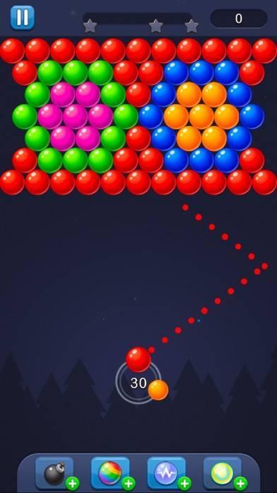 「Bubble Pop! パズルゲーム伝説」のスクリーンショット 1枚目