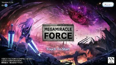 「メガミラクルフォース(MEGAMIRACLE FORCE)」のスクリーンショット 1枚目