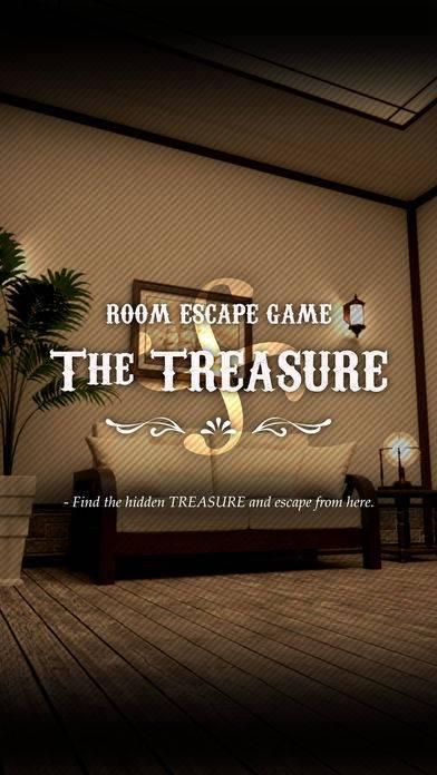 「脱出ゲーム The TREASURE」のスクリーンショット 1枚目