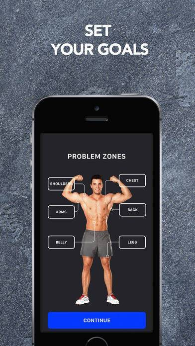 「Muscle Booster Workout Planner」のスクリーンショット 2枚目